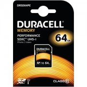 Duracell 64GB SDXC UHS-I geheugenkaart (DRSD64PE)