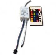 Controlador Infrarojo para Tira RGB.