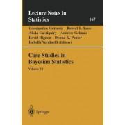 Case Studies in Bayesian Statistics: v. VI by Constantine Gatsonis