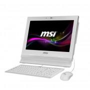 "MSI - Wind Top AP1622ET-037XEU 1.8GHz 1037U 15.6"" 1366 x 768Pixeles Pantalla táctil Color blanco"