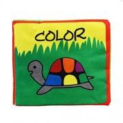 Malloom® blando libro de tela, Bebé Desarrollo de Inteligencia Aprender y leer (color)