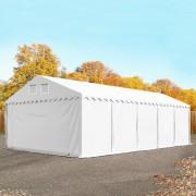Profizelt24 Lagerhalle 5x10m PVC weiß Zelthalle, Lager, Industriezelt