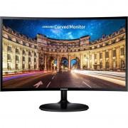 Monitor LED Curbat Gaming Samsung LC24F390FHU 23.5 inch 4ms Black