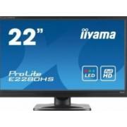 Monitor LED 21.5 Iiyama ProLite E2280HS 5ms Full HD