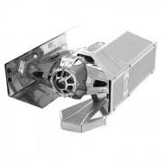 DIY 3D puzzle montado educativo de los juguetes de combate Modelo - plata