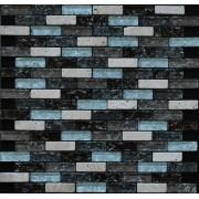 Maxwhite JSM-BL036 Mozaika skleněná kámen béžová hnědá 29,7x29,7cm