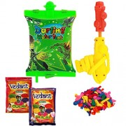 Ben 10 Water Pichkari Back Pack Licenced Product With 2 Gulal And Free Balloons