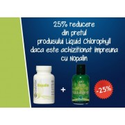 Promotie Calivita iunie-iulie 2014: 25% DISCOUNT Liquid Chlorophyll