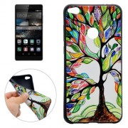 Huawei P8 Lite (2017) Tree of Life Pattern Soft TPU Protective Case