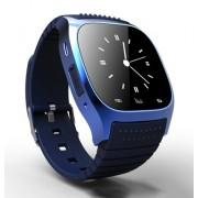 Bluetooth M26 Smart Touch Screen Watch Wrist Blue