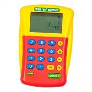 Learning Resources See 'N' Solve Visual Bolsillo Basic calculator Azul, Rojo, Amarillo - Calculadora (Bolsillo, Basic calculator, Azul, Rojo, Amarillo, Not available, Batería, AA)