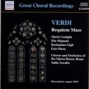 G Verdi - Requiem ( Rec.1939) (0636943115923) (1 CD)
