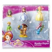 Disney Sofia the First Princess 6 pc Figurine Figure Set