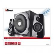 Caixa de Som Trust Tytan | 2.1 | 60 Watt RMS | Subwoofer Speaker Set | 18465 9137