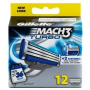 Gillette Mach3 Turbo 12 Blade
