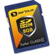 Card de Memorie Serioux SDHC 8GB Turbo Speed Class10