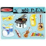 "Puzzle sonor ""Instrumente muzicale"""