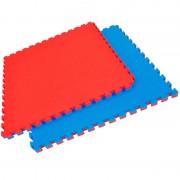LIQUIDACIÓN ÚLTIMAS UNIDADES - Tatami Puzzle Reversible color Azul-Rojo, Grosor 2,5 cm