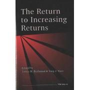 The Return to Increasing Returns by James M. Buchanan