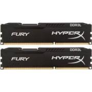 Kit Memorie HyperX Fury Black 2x8GB DDR3L 1866MHz CL11 Dual Channel