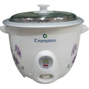 Crompton Greaves MRC61-I Electric Rice Cooker with Steaming Feature(1.5 L)