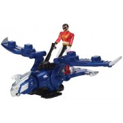 Bandai 35092 - Power Rangers Megaforce - Gosei Jet Ranger con figure rosse