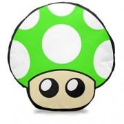 Almofada Cogumelo Verde Super Mario Bros