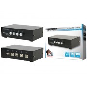 König CMP-SWITCH45 4 portos USB switch
