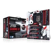 Gigabyte Gigabyte GA-Z170X-Gaming G1 Scheda Madre, Nero/Rosso