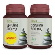 Spirulina 500 mg (1 + 1 gratis) Alevia