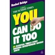 You Can Do it Too by Rachel Bridge