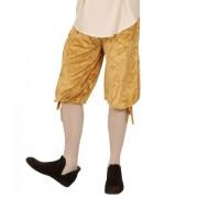 Pantalones de Terciopelo para Disfraces Beige talla M