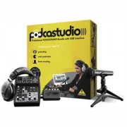 Behringer USB Podcast Studio Recording Package -NEW