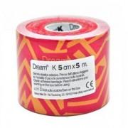 SIXTUS NASTRO DREAM TRIBE CM 5X5M - GIALLO/ROSSO - DRM0103