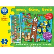 Puzzle De Podea - Invatam Sa Numaram (30 Piese) - Orchard Toys (276)