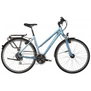 Cube Touring One - Bicicletas trekking Mujer - Trapez azul Bicicletas trekking mujer