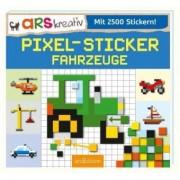 Pixel-Sticker Fahrzeuge