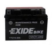 Exide YTZ14-BS 12V 11,2Ah motorkerékpár akkumulátor BAL+