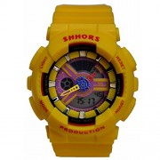 SHHORS Analog-Digital Black Dial Dial Kids Sports Watch -CREATOR