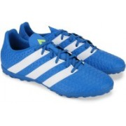 Adidas ACE 16.4 TF Men Football Shoes(Blue, White)