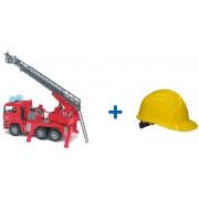 Masina pompieri MAN + casca de protectie