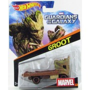 MASINUTA HOT WHEELS DC MARVEL GROOT - MATTEL (BDM71-CGD56)