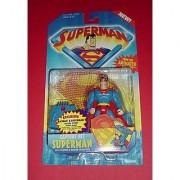 SUPERMAN MAN OF STEEL ANIMATED:CAPTURE NET SUPERMAN FIGURE by DC Comics
