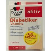 Doppelherz Aktiv Diabetiker Vitamine (30 tablete + 10 tablete cadou)