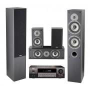 Sistem Audio 5.0 Akai AS110RA-320 + Sistem Boxe SS016A-655MK 135W RMS, Negru BF2016