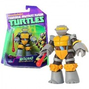 Playmates Year 2012 Nickelodeon Teenage Mutant Ninja Turtles 4 Inch Tall Action Figure - Sewer Built Robotic Turtle Ally METALHEAD with Missile Launching Hand and 1 Missile