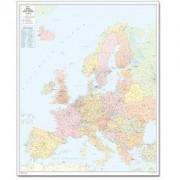 Harta codurilor poştale Europa, mare Bacher Verlag