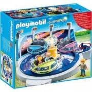Комплект Плеймобил 5554 - Въртележка летящи чинии със светлини - Playmobil, 291037