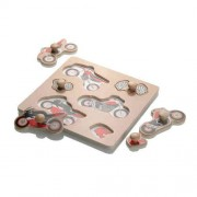 Booster Motorbike Wooden Puzzle