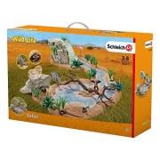 Schleich Vida Salvaje 42321 kit de figura de juguete para niños - kits de figuras de juguete para niños (Niño/niña, Multi, Animals, Africa)